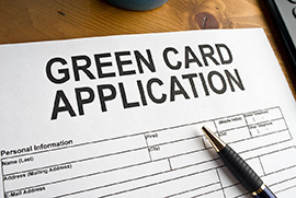 White Plains Immigration Lawyers - Green card application image