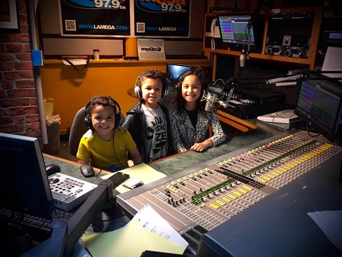 Image result for kids on the radio