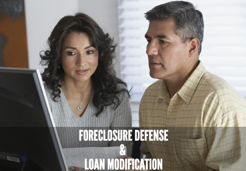 Foreclosure defense and loan modification services