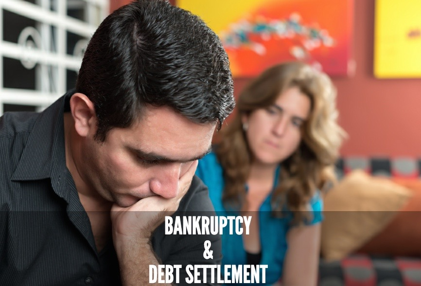 Bankruptcy and debt settlement services