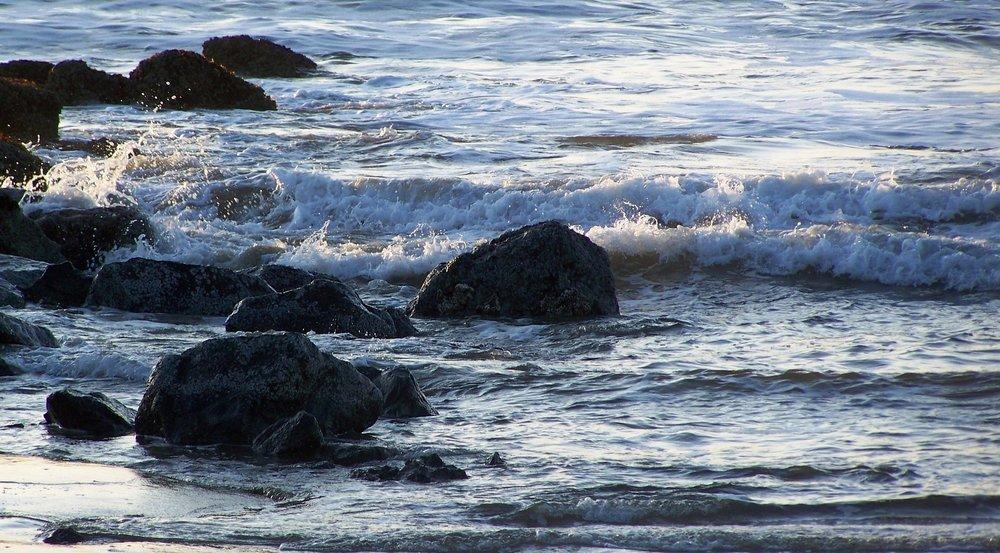 image of saves on rocks