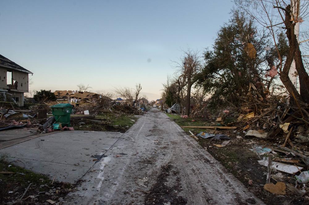 North Texas Tornado Damage