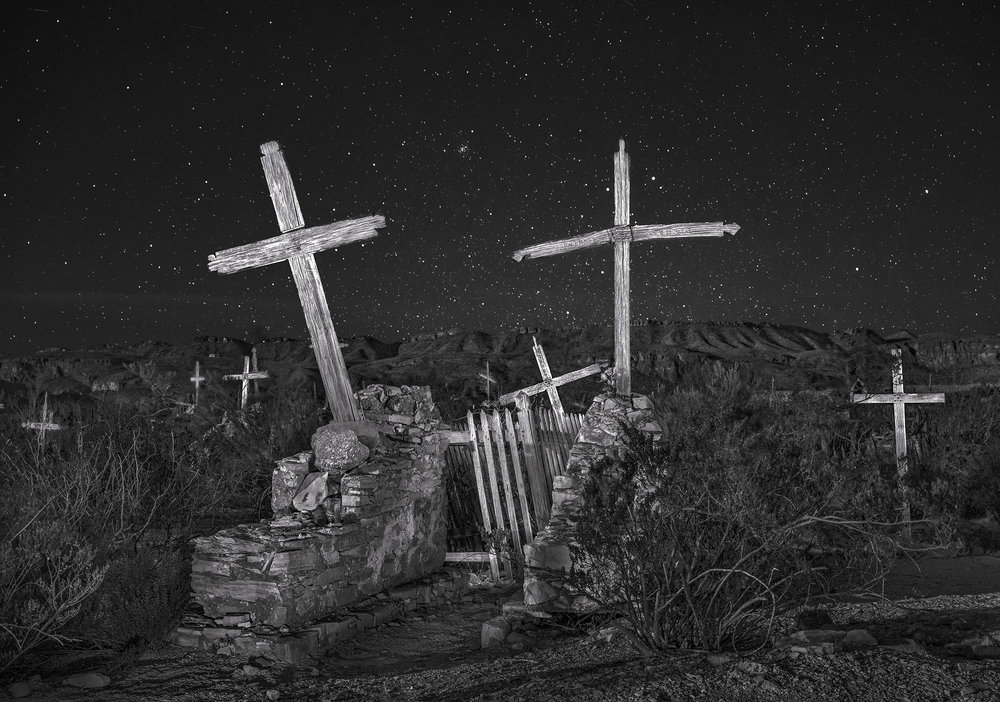 Old miners cemetery