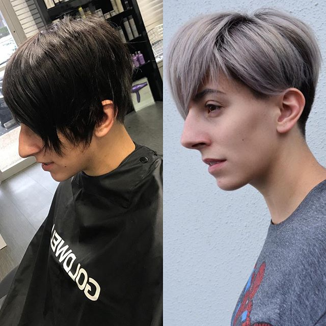 Talk about a transformation!!!!! This was a 5 hour back to back blonding session tagg teamed by @hair_byginama and @hair_by_charli. Assisted by @topochicaroxx and @tx_beautybunny. @goldwellus was used to achieve this look!  #sanantoniohairstylist #sanantoniohair #goldwellapprovedus #sanantonioshorthair #nothingbutpixies #shorthairdontcare #hairbrained #modernsalon  #behindthechair