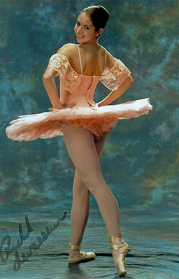 New Bedford Ballet alumna Rachel Levasseur performed at the NBB 20th Anniversary Celebration in 2007.