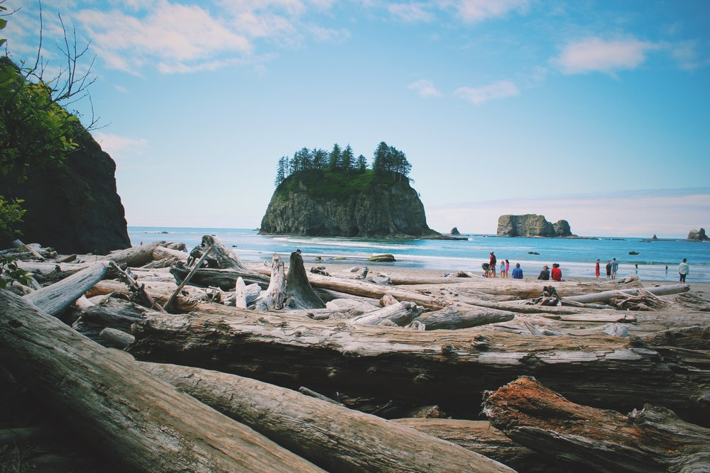 Destination PNW: La Push/Second Beach