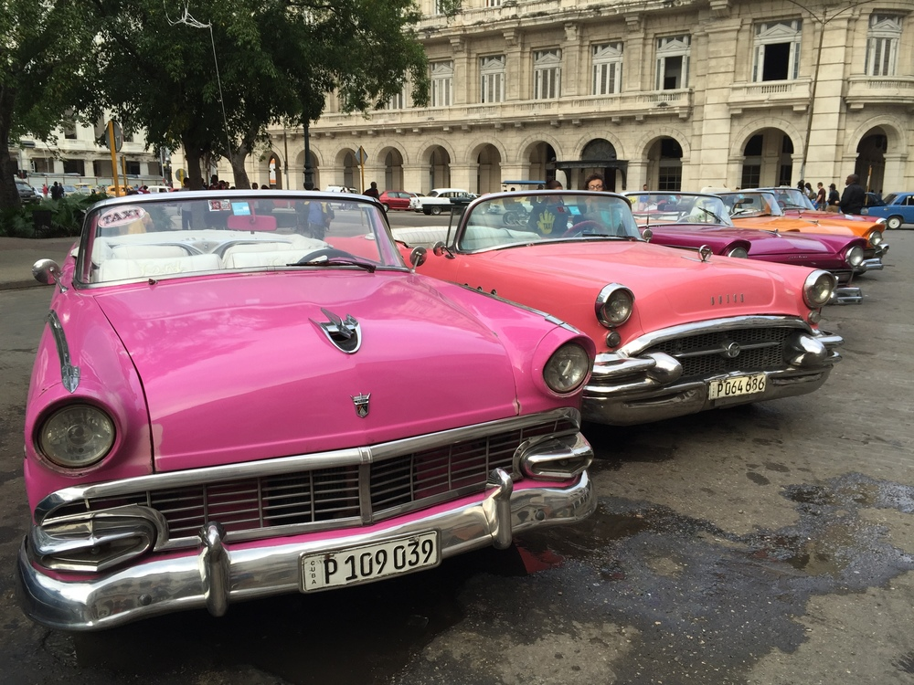 Almost every car in Havana is a taxi. These cars are specific for taking tourists on tours of the city. Kudos to Cubans for keeping these babes on the road.