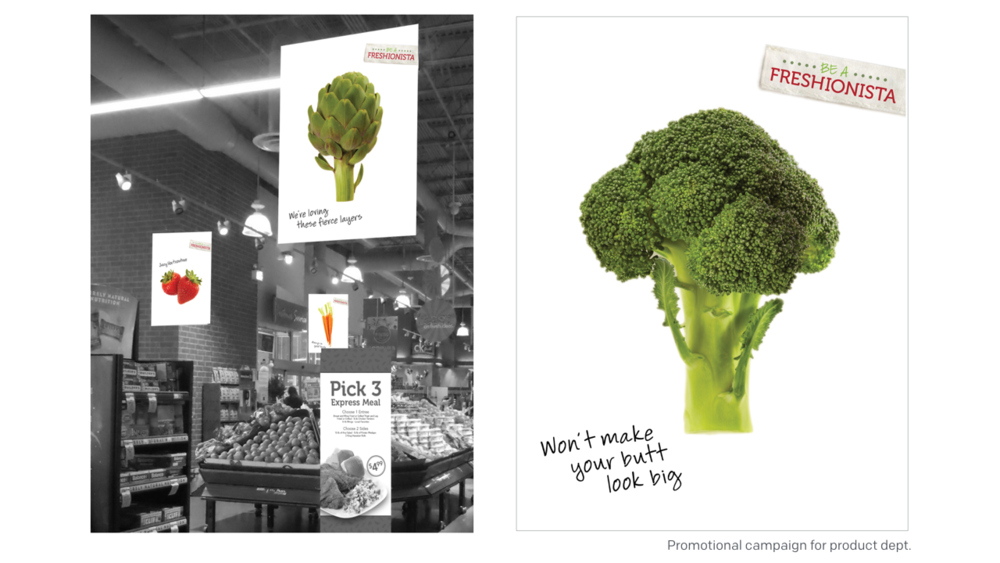 CLIENT: SUPERVALU | ROLE: ART DIRECTION