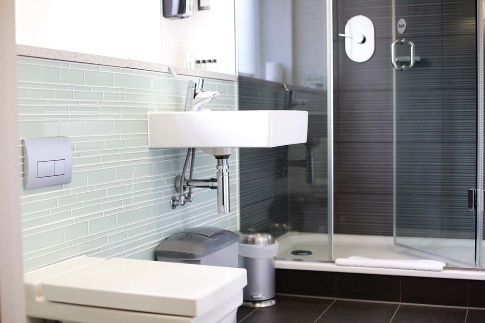 Clean and bright facilities