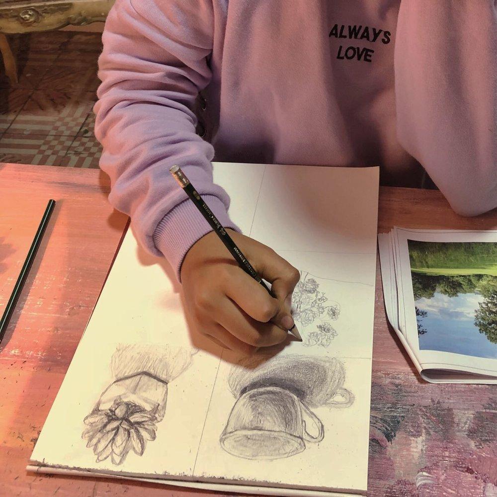 trabajo de la alumna Daniela Cauti