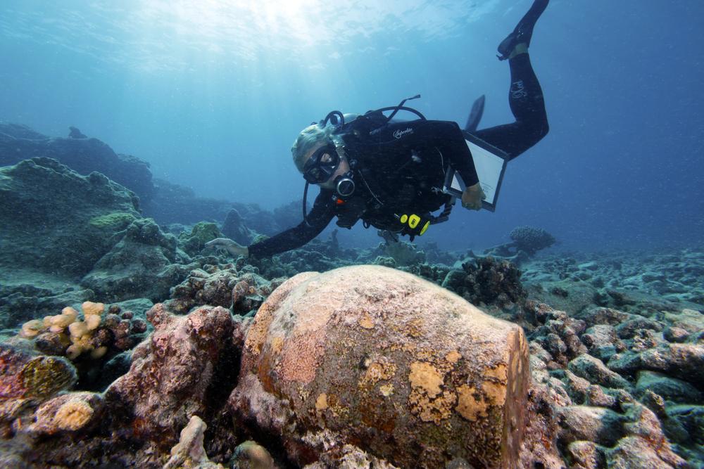 maritime archaeologist Gleason