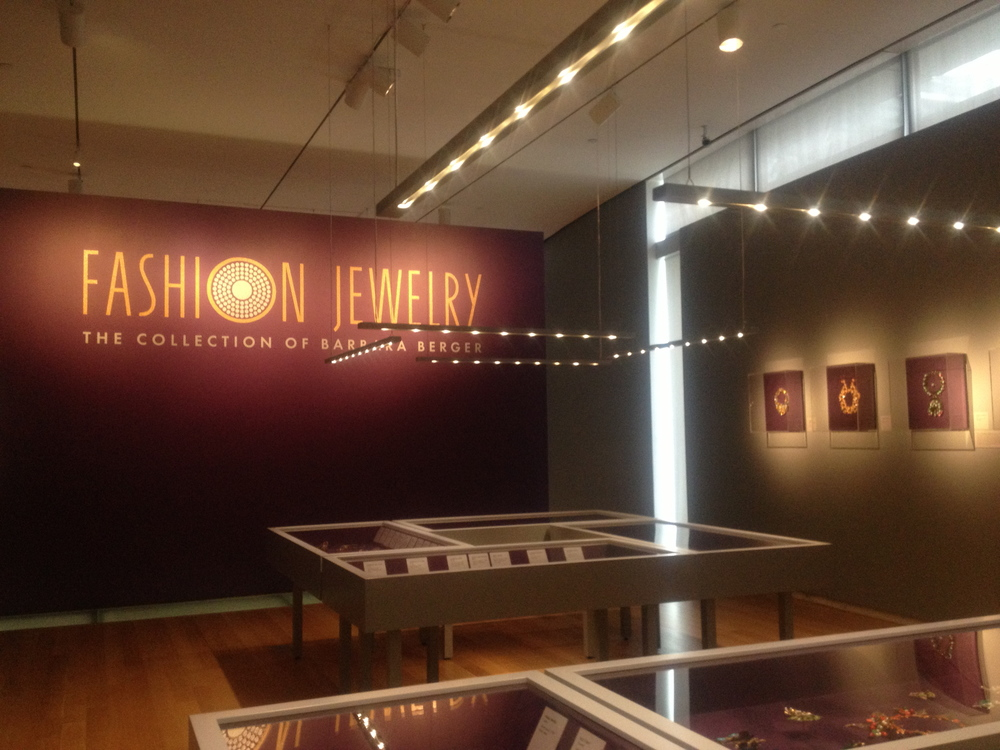As featured in  Fashion Jewelry: The Collection of Barbara Berger  exhibit at the  Museum of Arts & Design  2013-   KM116  Pictured Far Right