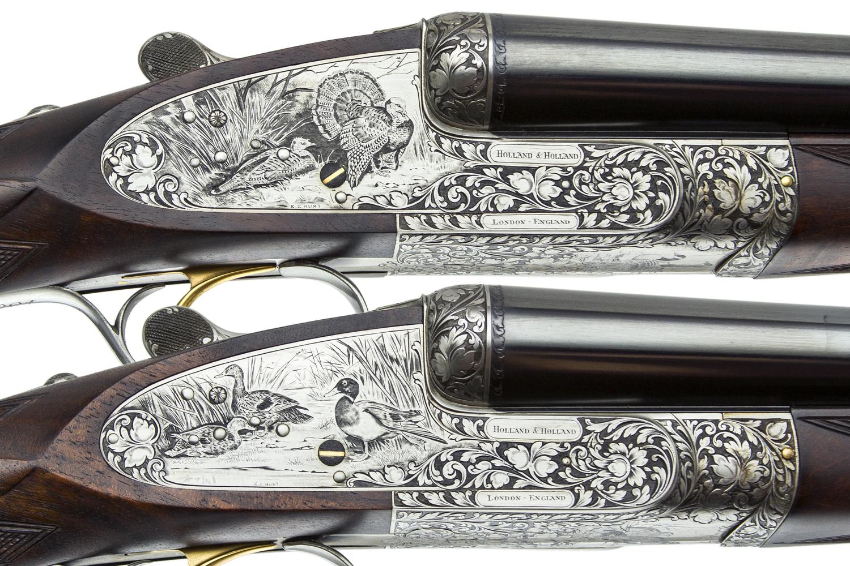 Holland And Holland >> Holland Holland 5 Gun Set 12 12 20 20 28 Gauge Steve Barnett Fine Guns High End Shotguns Rifles Pistols And Revolvers For Sale