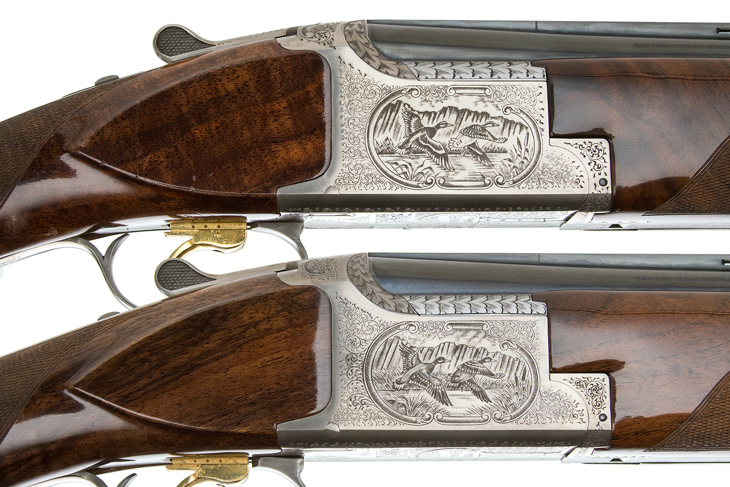 BROWNING - B-125 SUPERPOSED PAIR 12 GAUGE — Steve Barnett Fine Guns |  High-End Shotguns, Rifles, Pistols, and Revolvers For Sale