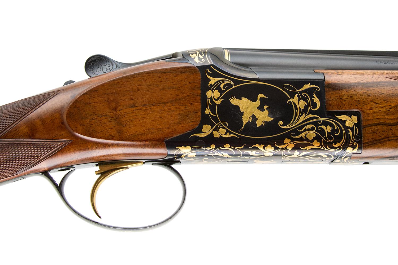 BROWNING - EXHIBITIONSUPERLITE BY WINSTON CHURCHILL 2 BARREL SET 410 & 20  GAUGE — Steve Barnett Fine Guns   High-End Shotguns, Rifles, Pistols, and