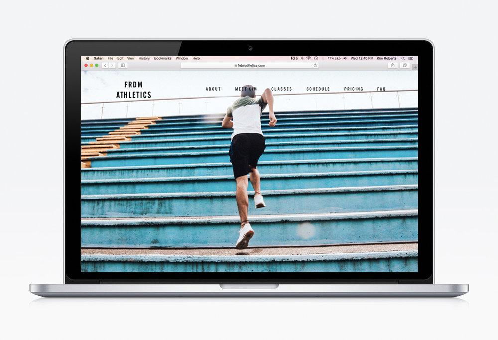 FRDM Athletics - Branding & Web Design