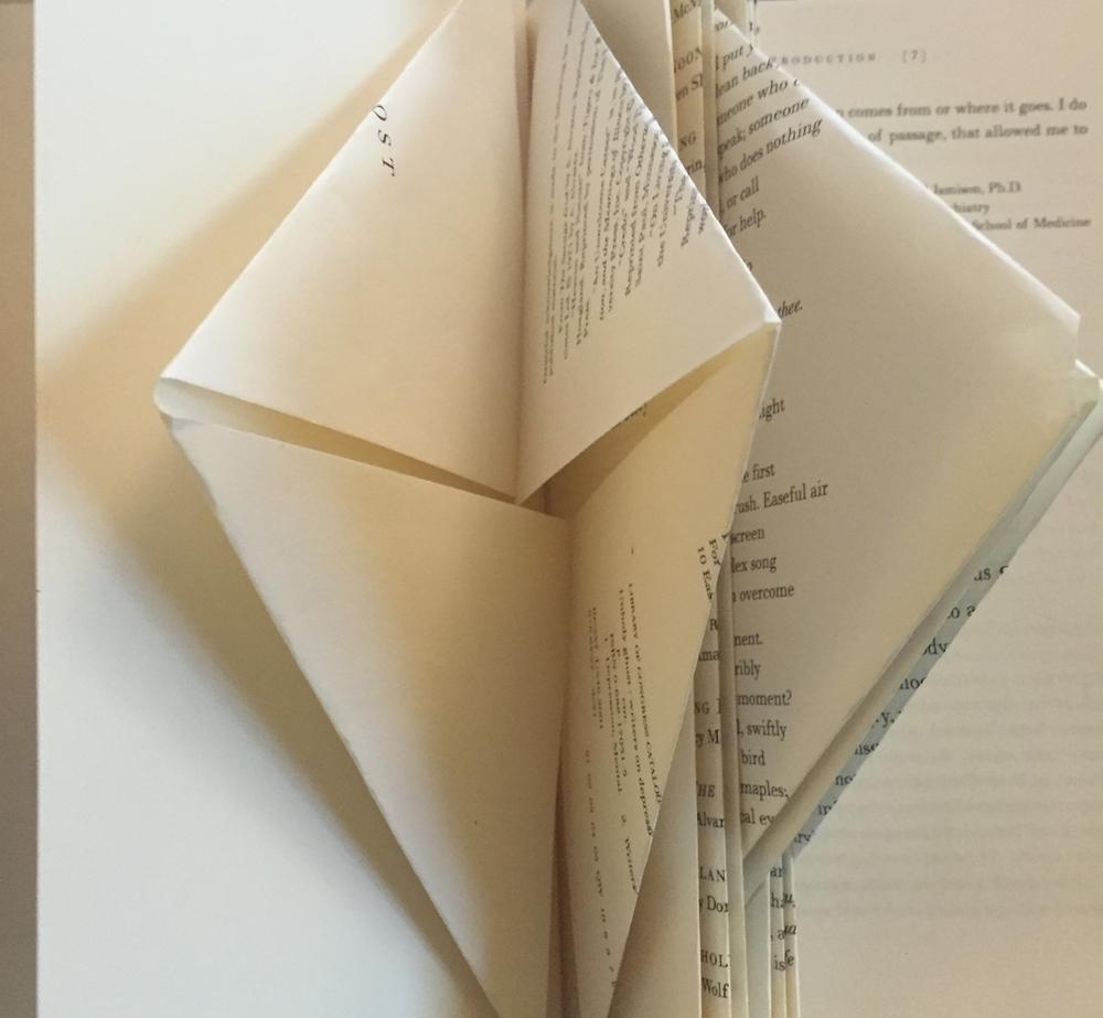 Book Folding Detail
