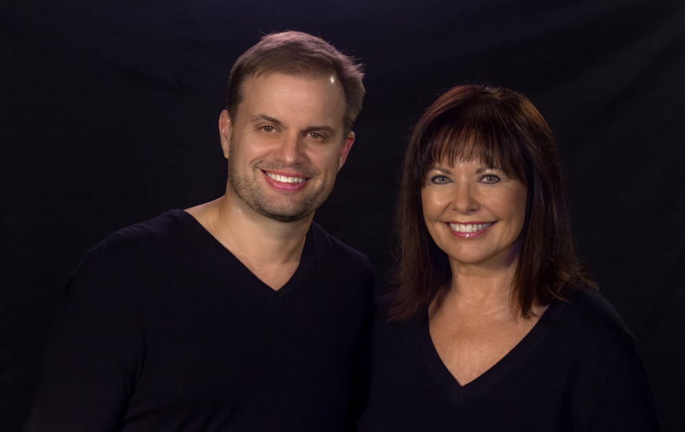Trey Stouffer and Linda Parker