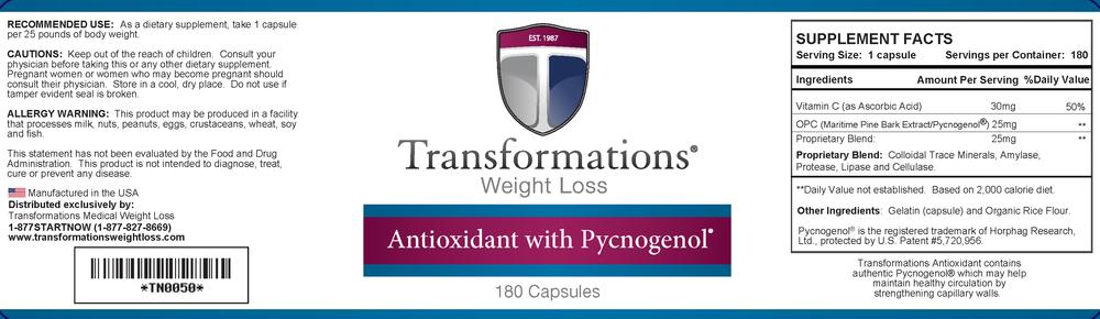 Pycnogenol Transformations Weight Loss