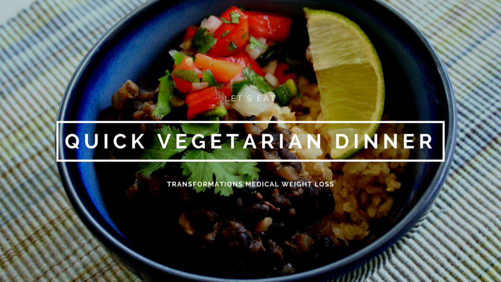 Quick Vegetarian Dinner