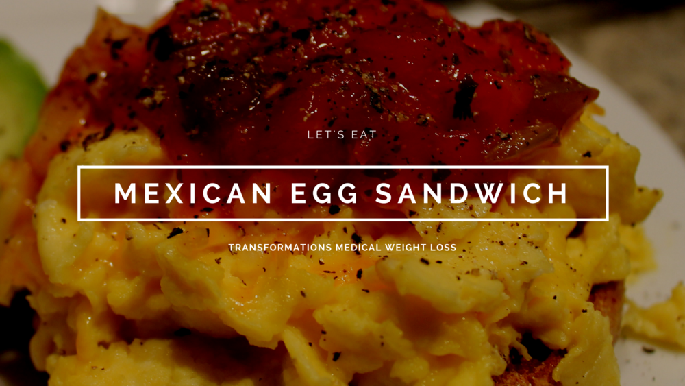 Mexican Egg Sandwich