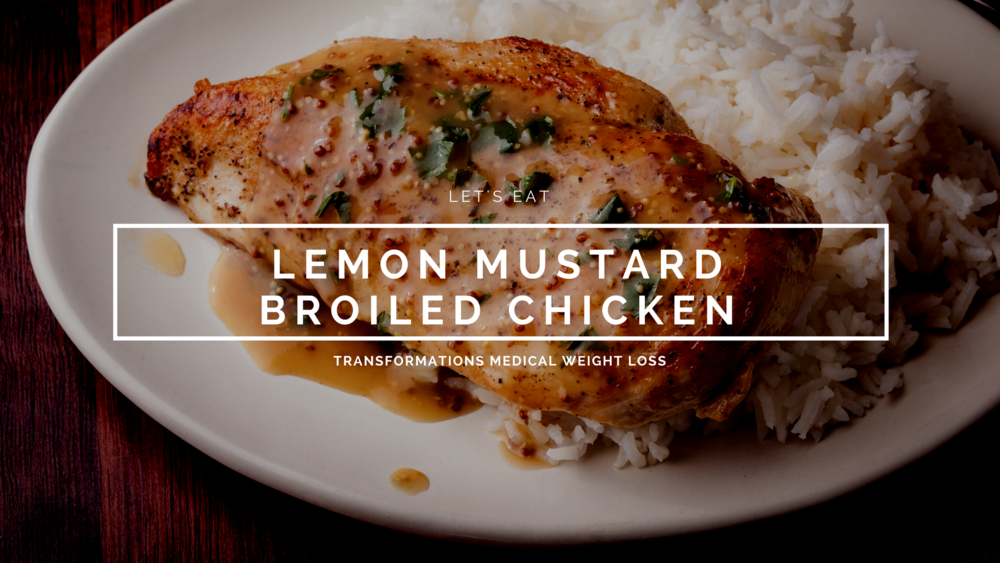 Lemon Mustard Broiled Chicken