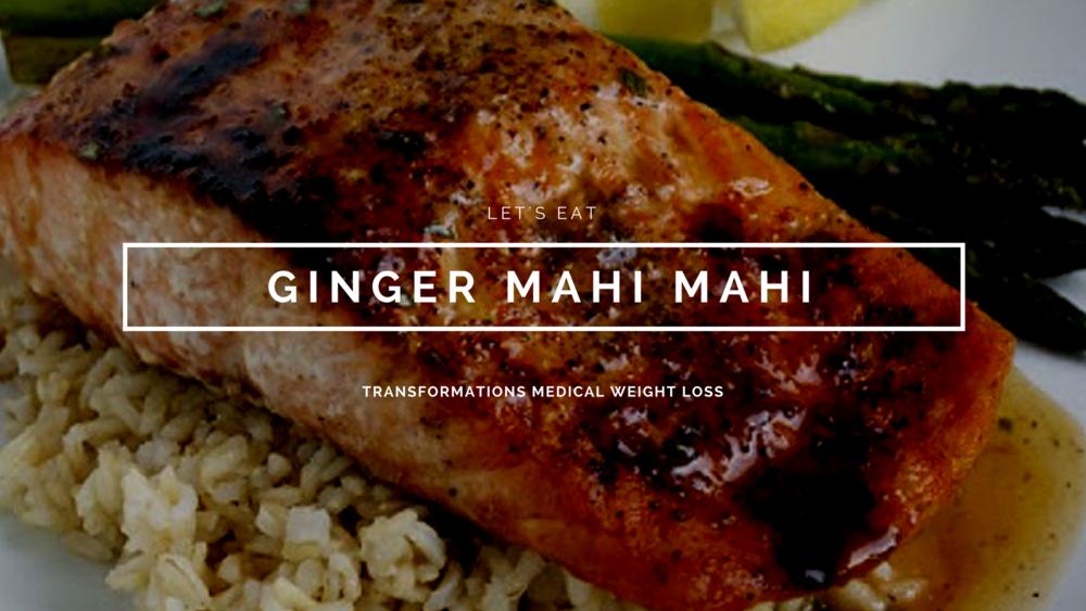 Ginger Mahi Mahi