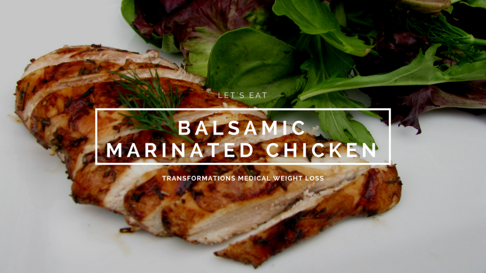 Balsamic Marinated Chicken