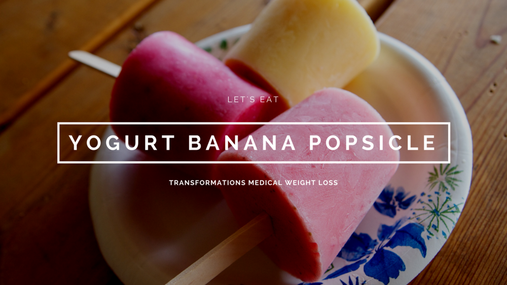 Yogurt Banana Popsicle