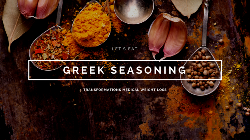 Salt-Free Seasoning |   Greek Seasoning