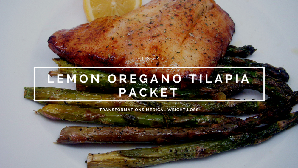 Lemon Oregano Tilapia Packet