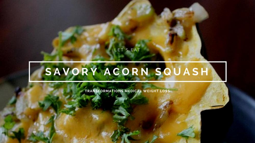 Savory Acorn Squash