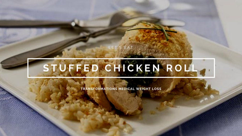 Stuffed Chicken Roll