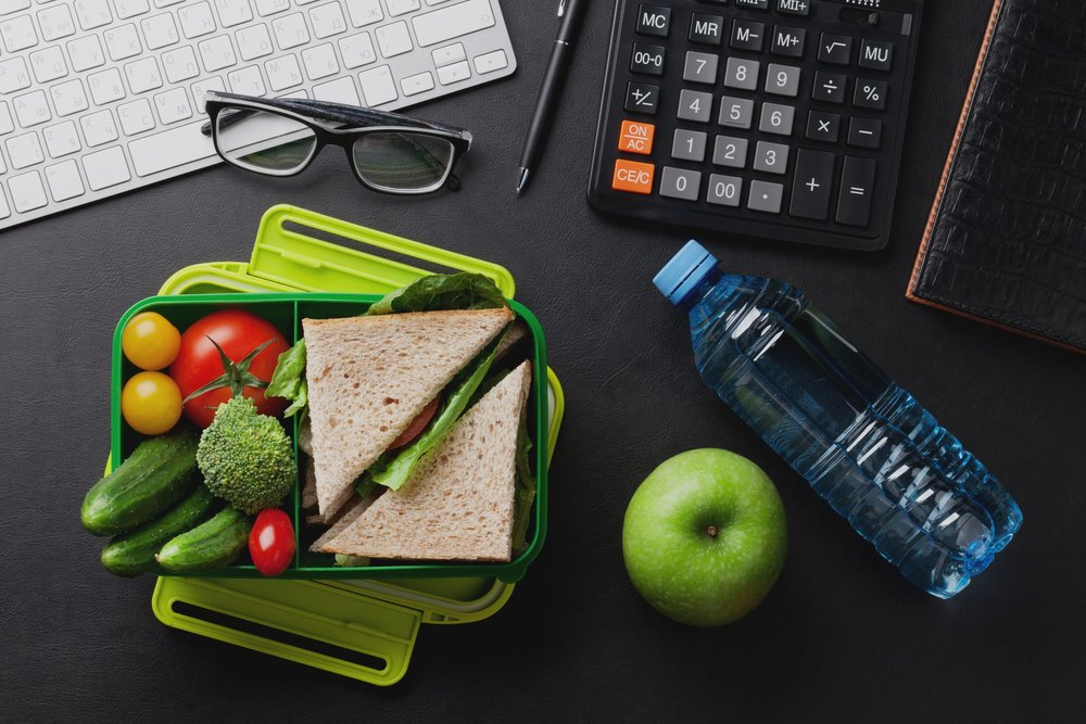 Bring food to work - I'm I big proponent of bringing my food to work. Not only do I save money, I know what I am eating, and I end up eating much less.