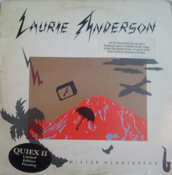 LAURIE ANDERSON // MISTER HEARTBREAK