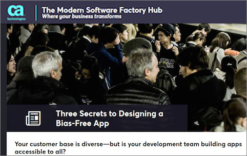 Modern Software paper on Bias-free Apps