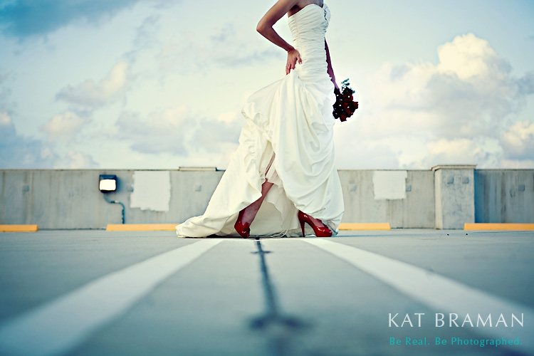 Seeing Red - South Florida Fashion Bridals