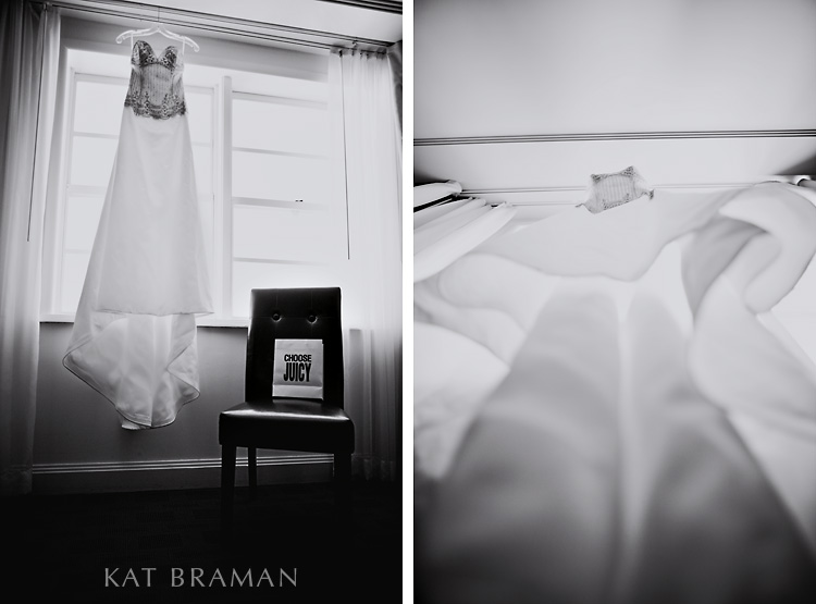 Rachael's Wedding Dress | National Hotel | Miami Wedding Photographer