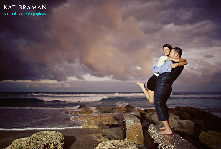 Jacqueline & Sean Enagement - Palm Beach