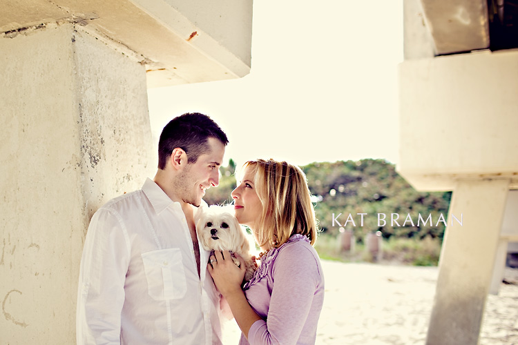 Erica & Dan Juno Beach Engagement Photos
