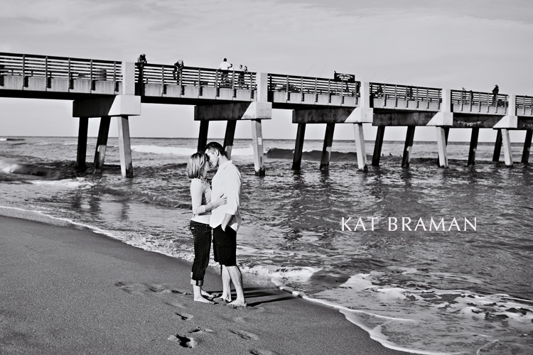 Erica & Dan Juno Pier Engagement Photos