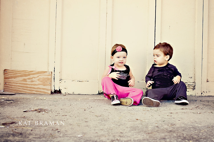 Photographing Toddler Twins