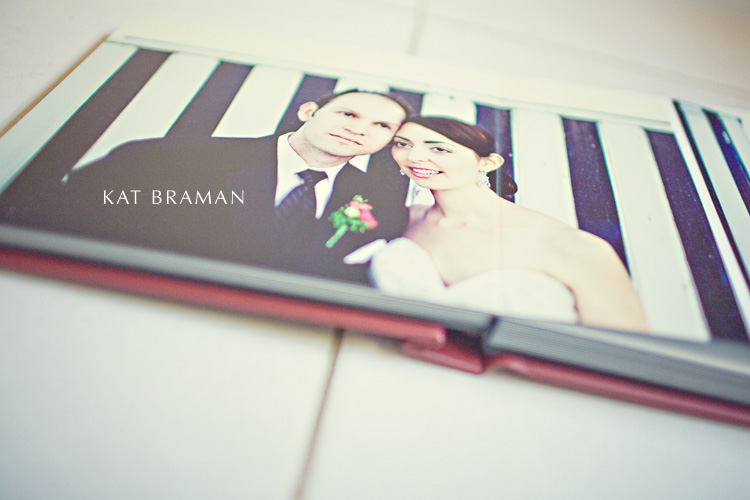 Flushmount Wedding Album - Forbeyon