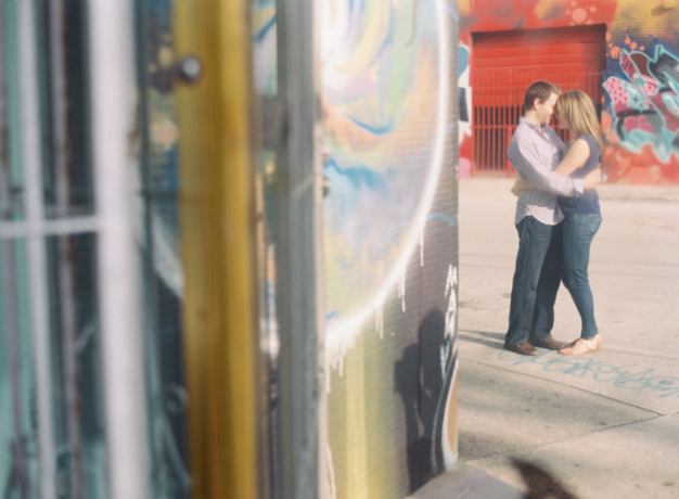 Wynwood Miami Engagement Session by Kat Braman