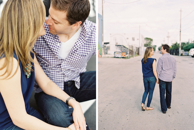 Miami Engagement Session by Kat Braman