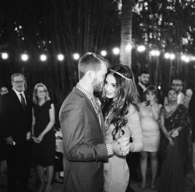 First Dance at Bohemian Wedding in Florida