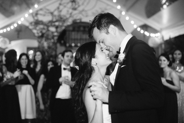 First Dance at Villa Woodbine in Miami - photo by Kat Braman