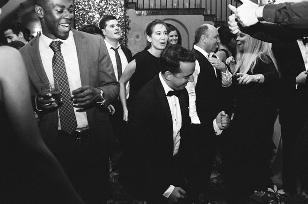 Wedding reception at Villa Woodbine in Miami - photo by Kat Braman