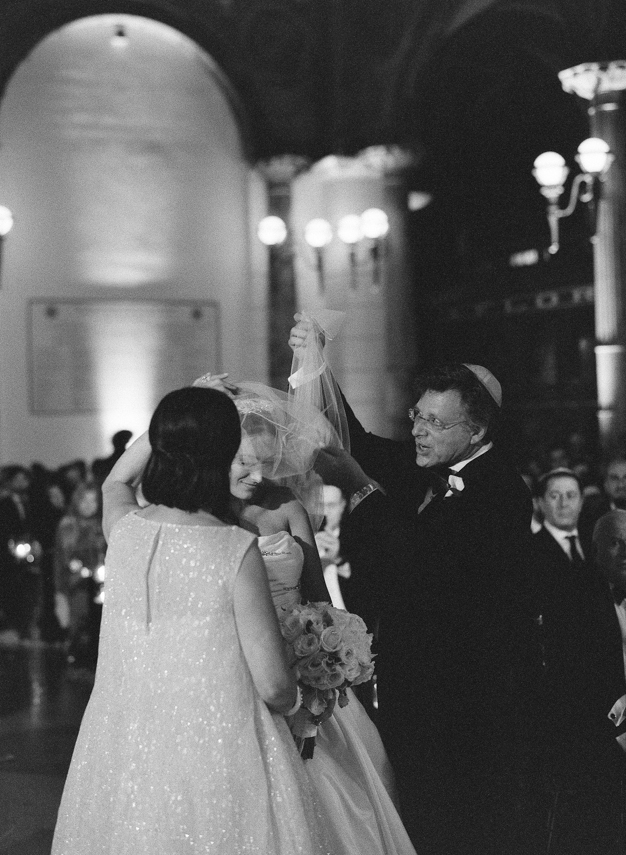 Jewish Wedding Ceremony at Flagler Museum in Palm Beach - photo by Kat Braman