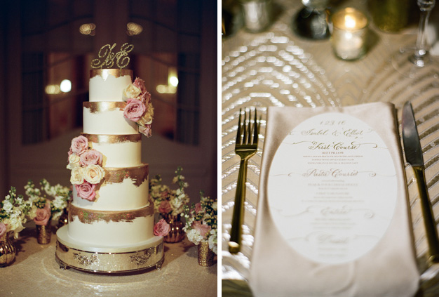 Gold Earth and Sugar Cake at Flagler Museum Wedding - photo by Kat Braman